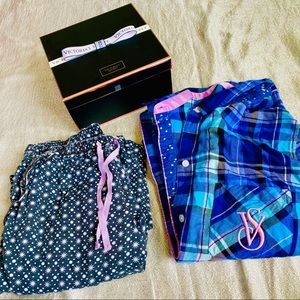Comfy Victoria's Secret plaid star ⭐️ pajamas